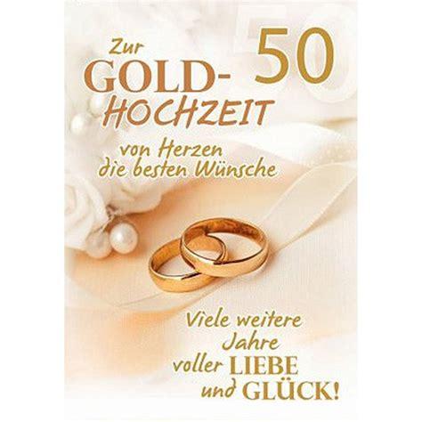Goldene Hochzeit Karte by A4 Gl 252 Ckwunschkarte Goldene Hochzeit 50 Hochzeitstag