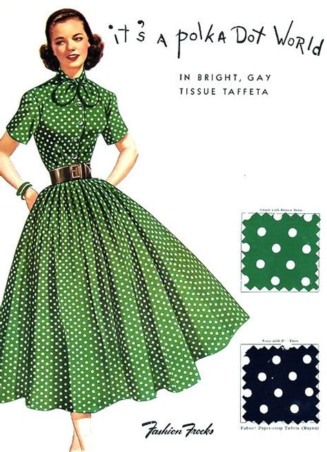 dot pattern frocks 313 best images about sewing pattern vintage on pinterest
