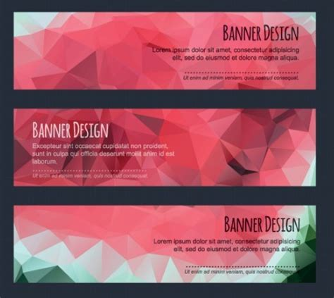 banner design inspiration vector 25 beautiful free vector banners