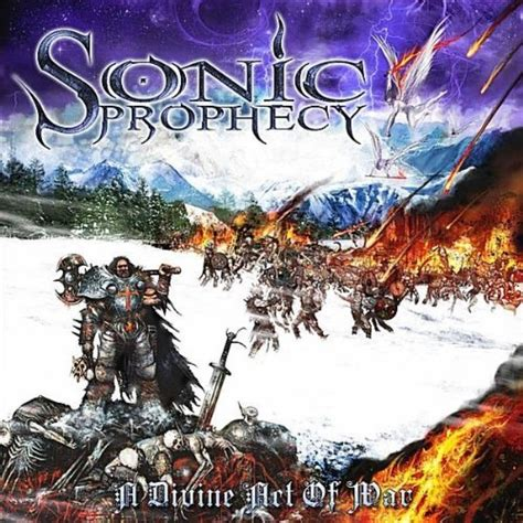 Baju Band Power Metal sonic prophecy a act of war a of light