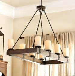 rustic kitchen chandeliers arturo 8 light rectangular chandelier rustic