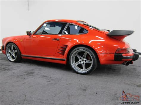 Porsche 911 Turbo 1986 by 1986 Porsche Factory 930 911 Turbo 1 Owner