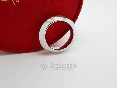 fedone pomellato anello fedone pomellato in oro bianco misura 12