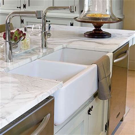 Colonial Kitchen Sink Smart Splurge Kitchen Modern Colonial Style Farm Sink Sinks And Kitchen Sinks
