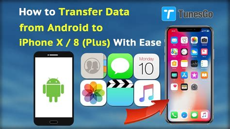 how to transfer from itunes to android how to transfer data from android to iphone x 8 plus with ease