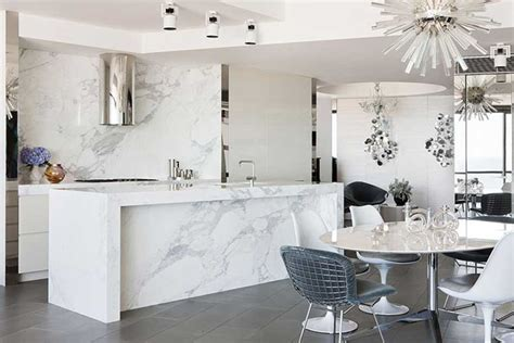 white marble kitchen with grey island house home white carrera marble for the kitchen and bathroom