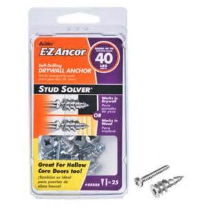 Ancor 1 in hollow door and drywall anchors 25 pack 25225 the