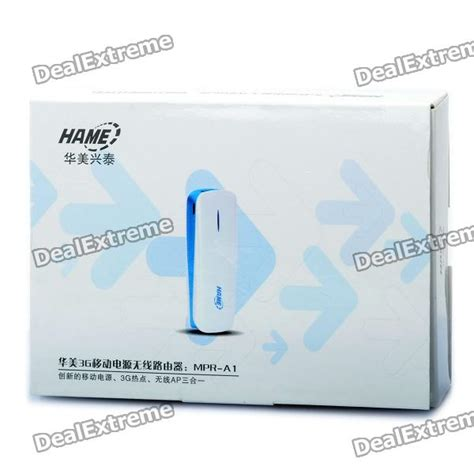 Router Hame A1 hame mpr a1 wifi 802 11b g n wireless 3g router w 1800mah battery charger dongle free