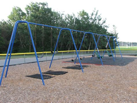 school swings quashnet elementary school playground old barnstable