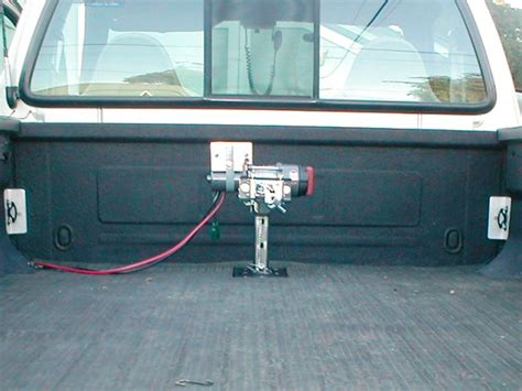 truck bed winch mounting winch in truck bed images