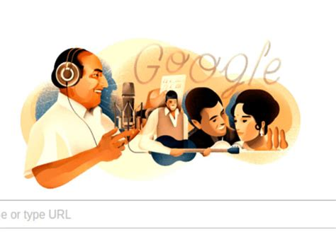 doodle india who is mohammed rafi today s doodle oneindia