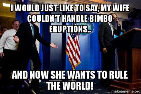 Bill Clinton Obama Meme - pin bill clinton meme quickmeme on pinterest