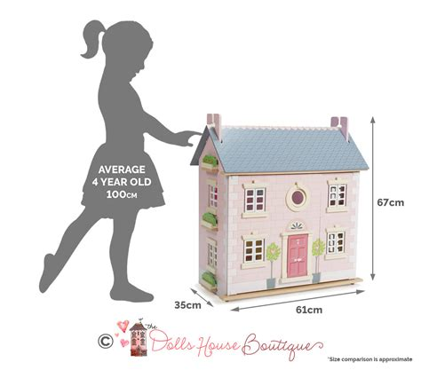 bay tree dolls house le toy van bay tree house doll house