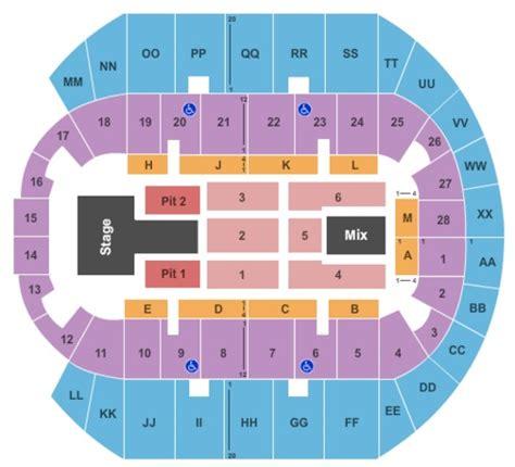 ms coast coliseum seating chart mississippi coast coliseum tickets in biloxi mississippi