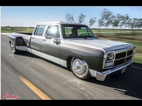 ONE OF A KIND DODGE FIRST GEN CREW CAB CUMMINS DUALLY ON