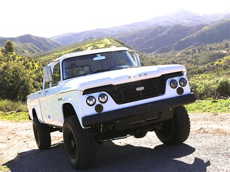icon 4x4 d200 1965 dodge d200 powerwagon reformer by icon 4x4 is the