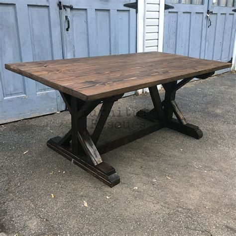 style dining table farm style rustic dining table furniture rescues