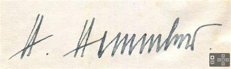 Ss Signature reichsf 220 hrer ss himmler signature