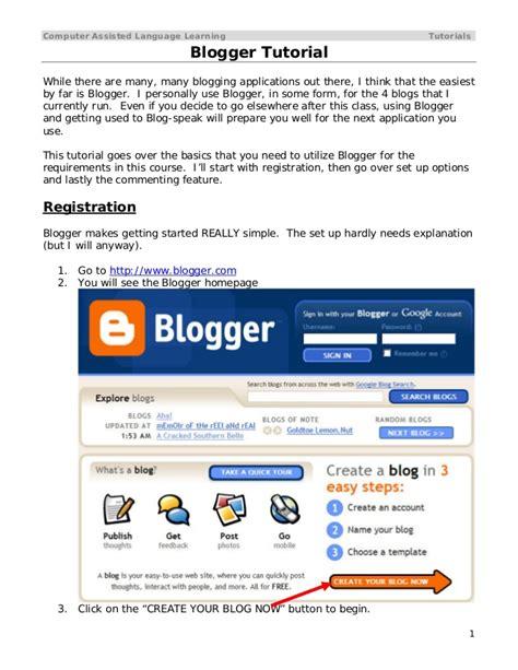tutorial computer blogspot blogger 20 tutorial