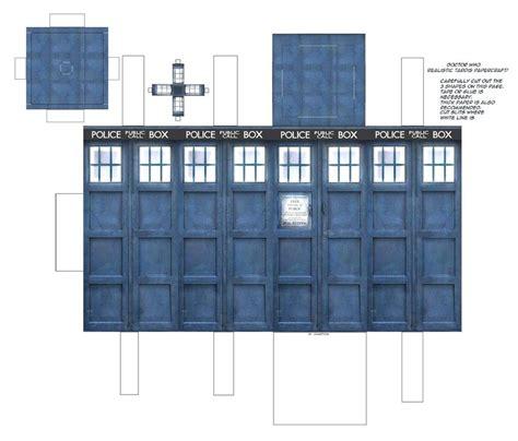 tardis template doctor who tardis papercraft by jailboticus on deviantart