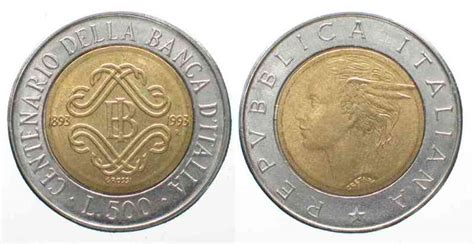 500 lire centenario d italia valore 1993 italien italien 500 lire 1993 centenario della