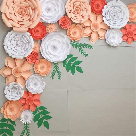 Wedding Arch Photo Booth by Large Paper Flowers Backdrop Wedding Arch Photo Booth