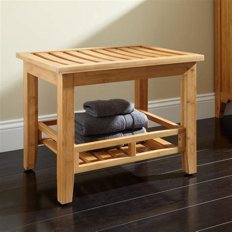Bathroom Stool Storage Pradit Bamboo Bathroom Stool Shower Seats Bathroom Accessories Bathroom