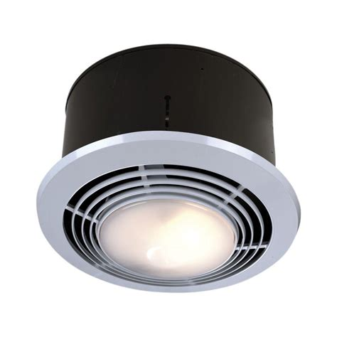 100 cfm ceiling exhaust fan with light and heater 70 cfm ceiling exhaust fan with light and heater nutone