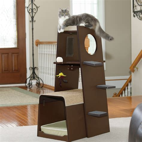 modern cat tree furniture contemporary cat furniture for pet homesfeed