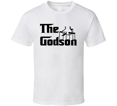 Tshirt The Godson by The Godson Godfather T Shirt