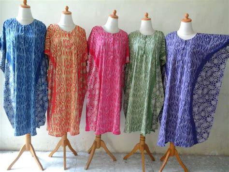 Longdress Santung Batik Cap Flora daster batik pekalongan batik halus pekalongan page 2