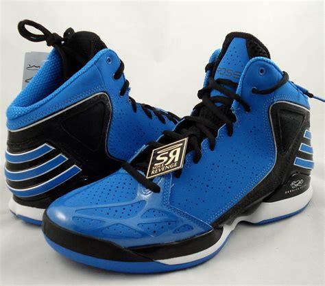 adidas adizero rose  basketball shoes bluebird black blue trainers   ebay