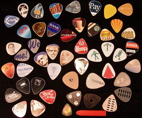 Handmade Guitar Picks - diy guitar picks gearfuse
