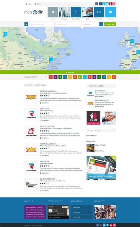 themeforest listing metrodir directory listings wordpress theme by uouapps