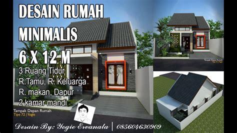 desain rumah ukuran 6x12 meter gambar desain rumah minimalis 6 x 12 wallpaper dinding