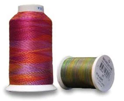 Thread For Machine Quilting by Yli Machine Quilting Thread Yli Thread 40 Weight Variegated