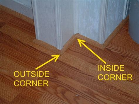outside corner molding installing quarter round moldings