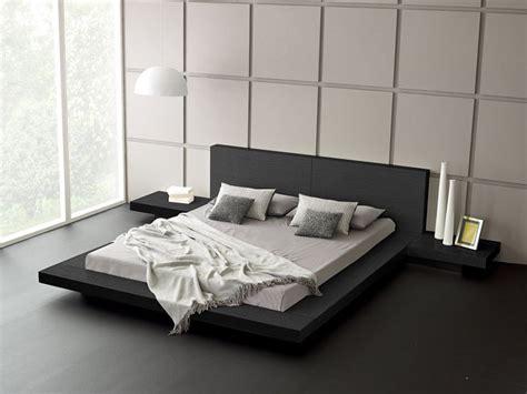 japanese platform bed frame ideas  asian taste