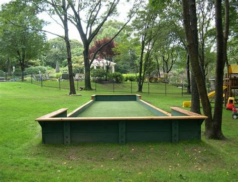 Backyard Bocce Court Dimensions by Bocce Court Dimensions Bocce Courts Bocce