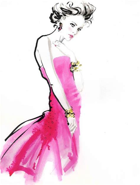 fashion illustration artists jax barrett golden bangles fashion illustration giclee print artists illustrators