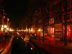 courtesan luxuriant light district of amsterdam