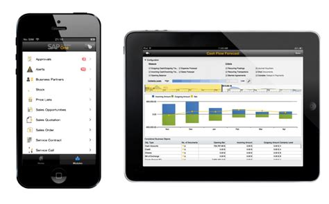 one mobile one sap business one mobile app for iphone and 193 baco