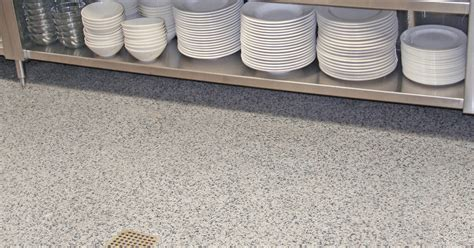 Healthy & Hygienic Commerical Kitchen / Restaurant Flooring