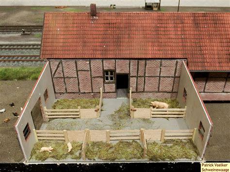 schweinestall bauen bahnhof ondrup an der dgee anlagen module und segmente