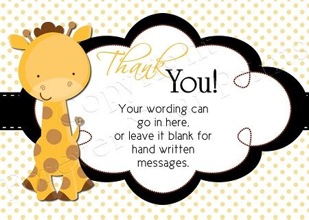 hallmark thank you card template free baby shower thank you cards hallmark anouk invitations
