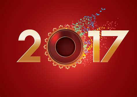 new year 2017 2017 new year greeting wallpaper