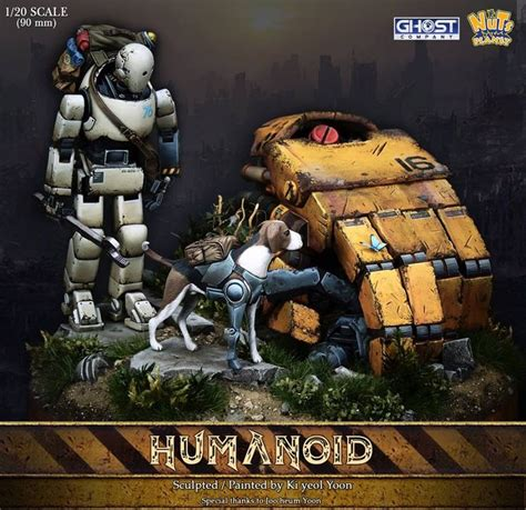 Bongkar Pasang Diorama Planet Robot the humanoid 90mm diorama now available click on the pic for more new arrivals and in