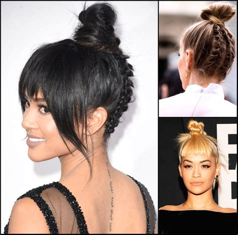 top hairstyles bun hairstyles archives hairstyles 2017 hair colors and