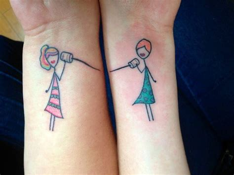 funny matching tattoos 14 best silly friendship tattoos images on