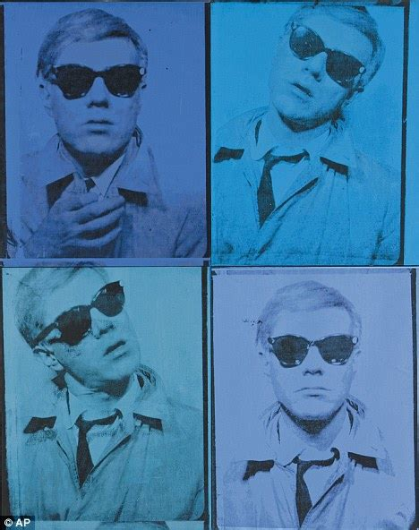 how was andy warhol when he died self portrait painted by american pop artist andy warhol